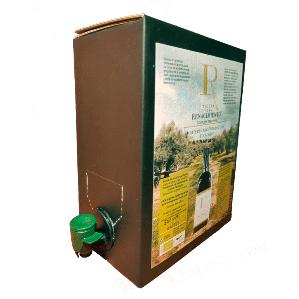 Pag in Box AOVE Ecológico Cosecha Temprana Tierra de Renacimiento 3L
