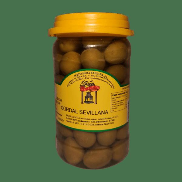 Bote de Aceitunas Gordal Sevilla
